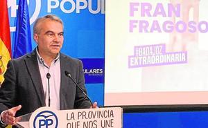 El PP ofrece a Fragoso encabezar la lista al Senado