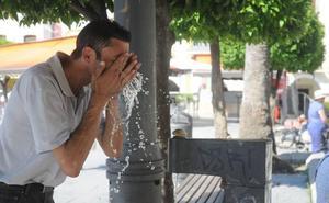 Badajoz registra la temperatura más alta del país, 36,4 grados