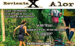 El día 20 se celebrará en Olivenza el trail 'Revienta X Alor' a beneficio de ADMO