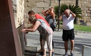 Jerez de los Caballeros registra su récord de temperatura en el mes de octubre con 36,4 grados