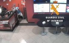 Detenido por robar la recaudación semanal de un local de juegos y apuestas en Miajadas