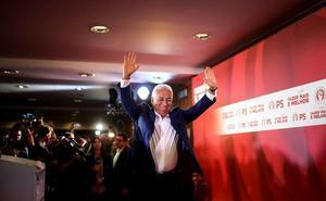 La victoria de António Costa en Portugal es buena para Extremadura, dice el PSOE