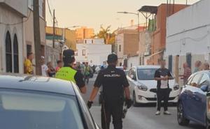 Una mujer resulta herida durante una reyerta en la Cañada de Badajoz