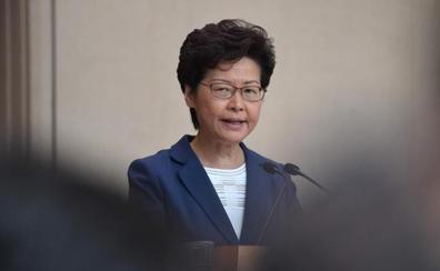 La líder de Hong Kong no descarta una intervención de China si los disturbios «empeoran»