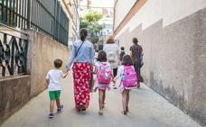 Extremadura es la región con mayor escolarización de niños de 5 años