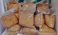 Intervienen diez kilos de tabaco de contrabando enviados en paquetes a Badajoz desde Sevilla