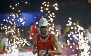 Álvaro Martín prepara los Juegos en Sudáfrica