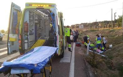 Un peatón de 65 años es atropellado en un paso de peatones de Alburquerque