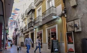 El PSOE propone ubicar un plano antiguo de Badajoz en la calle San Juan
