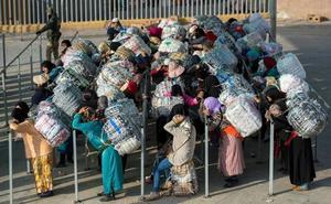 Cerrada indefinidamente la frontera de Ceuta al paso a pie de mercancías