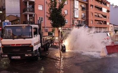 3.000 placentinos sin agua durante dos horas y media por una rotura en Sor Valentina