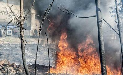El peligro medio de incendio se aplicará desde el miércoles