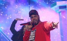 El puertorriqueño Anuel AA cerró anoche en Mérida su gira europea