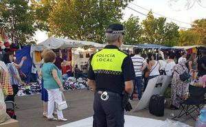 La Policía Local de Cáceres ampliará su presencia en las zonas comerciales con rondas a pie