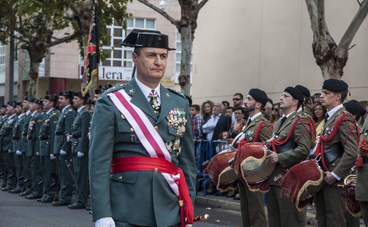Celebración en honor a la Virgen del Pilar de la Guardia Civil en Extremadura