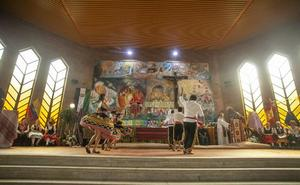 La parroquia de Guadalupe celebra la fiesta de La Hispanidad