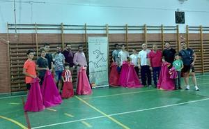 Inauguración en Coria del curso en la Escuela de Tauromaquia