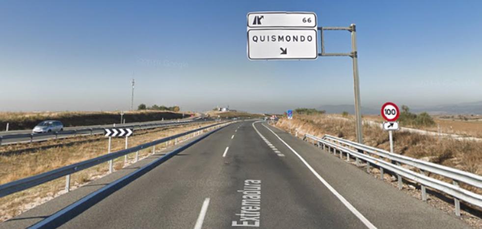 Un muerto y seis heridos en la colisión de cuatro vehículos en la A-5, a la altura de Quismondo