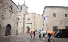 La semana comienza con lluvia y desplome de temperaturas en Extremadura