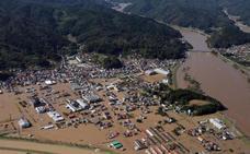 El tifón Hagibis deja al menos 35 muertos en Japón
