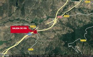 Muere un hombre en una salida de vía en la A-66, cerca de Aldeanueva del Camino