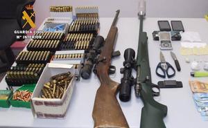 Ingresa en prisión un vecino de Llerena por tráfico de droga y tenencia ilícita de armas