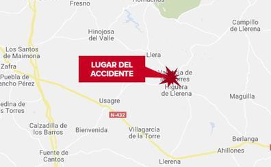 Heridas tres personas de diversa consideración en una salida de vía en Valencia de las Torres