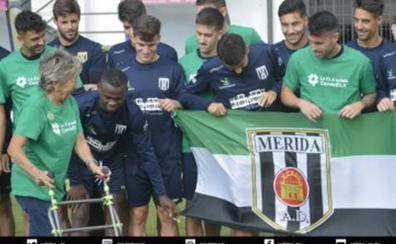 El Mérida, con las víctimas de ELA