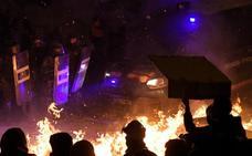 Barricadas de fuego por las calles de Barcelona