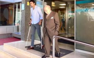 Miguel Ángel Perera recibe el alta hospitalaria