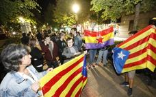 Concentración en Cáceres en apoyo a los presos del 'procés'