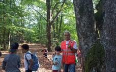 Los alumnos del Ejido visitan la antigua plantación de algodón