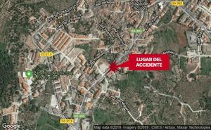 Una niña de once años, herida tras ser atropellada en Jaraíz de la Vera