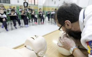 Más de 600 alumnos de Bachillerato aprenderán reanimación cardiopulmonar