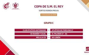 El Melilla, rival del Lobón en la previa de la Copa del Rey