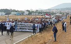 Manifestación por el desdoblamiento de la N-430