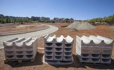 El sobrecoste en las obras del Parque del Príncipe de Cáceres se aprobará este otoño