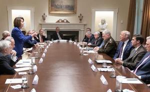 El presidente de EE UU pierde los nervios ante las críticas del Congreso a la retirada
