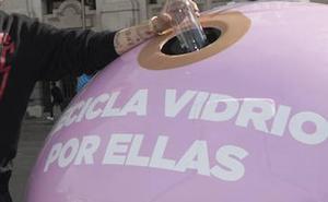El Ayuntamiento de Badajoz impulsará campañas para mejorar el reciclaje de vidrio
