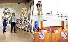 CACERESCAPARATE | Meninas con nuevos aires y arte sonoro en el Vostell