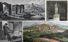 Los grabados de Extremadura de Laborde y la Luna del Cazador en Cáceres
