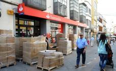 El Santander cierra hoy cuatro oficinas en Extremadura por el ERE