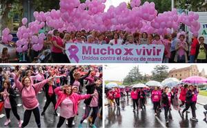 Extremadura se viste de rosa en el Día Mundial Contra el Cáncer de Mama