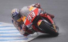 Márquez: «No sabía que no había conseguido nunca una 'pole' aquí en MotoGP»