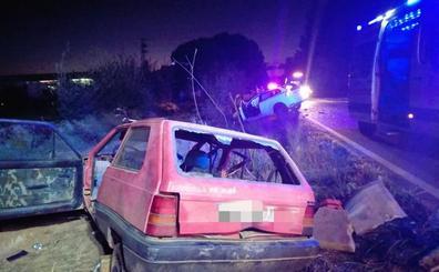 Fallece un hombre de 41 años en la colisión de dos turismos entre Montijo y Torremayor
