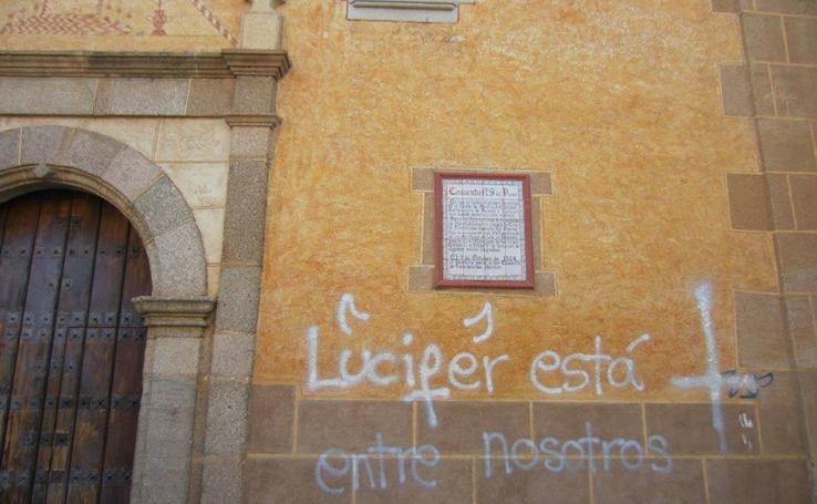 Pintadas en el Convento de Santa Clara de Montijo
