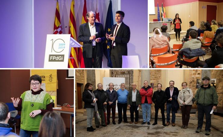 CACERESCAPARATE   Un mago en Girona y solidaridad con sabor
