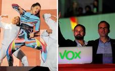 El 'quejío' de Rosalía contra la ultraderecha: «Fuck Vox»