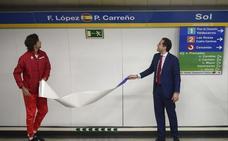 18 paradas de metro en homenaje a la Copa Davis