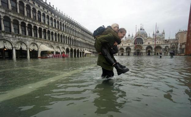 �Devastaci�n apocal�ptica� en Venecia